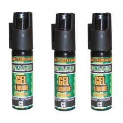 3 defensive spray paralising gel cs spray self defence, 100% 25ml lachrymatory bend tear gas bear spray cs spray chemical weapon