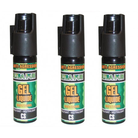 3 spray di difesa gel paralizzante cs 100 25ml modello piccolo arma da difesa cs spray bomboletta lacrimogena cs spray