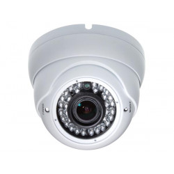 1/3' high resolution sony effio dsp varifocal dome camera