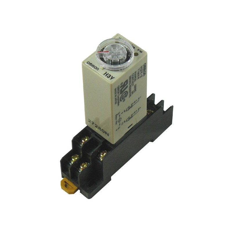 Ac 220v Delay Timer Time Relay 060 Minute H3y