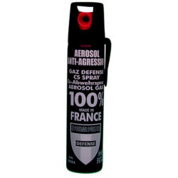 Spray gas paralizzante cs100 75ml modello grande gas lacrimogeno cs spray legittima difesa cs spray