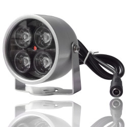 Projector infrared waterproof 4 leds night vision camera for night surveillance