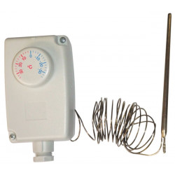 Thermostat + probe for freezer 24 240v no nc 35 +35 cold chamber