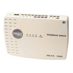 Private automatic branch exchange 3 lines 12 extension phones pabx private automatic branch exchange