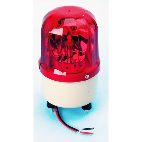 Electrical rotating light 12vdc 10w red fixed rotating light (fixation by screw) light warning emergency lights warning light sy