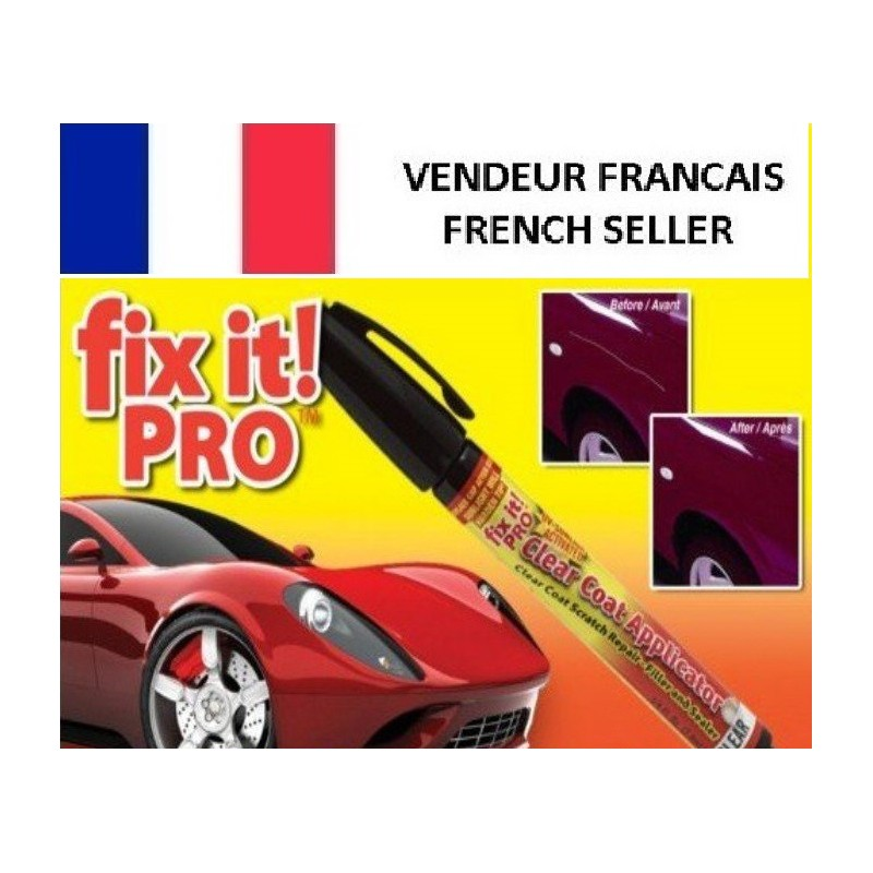 efface anti rayure stylo fixt it pro auto reparation carrosserie retouche peinture voiture. Black Bedroom Furniture Sets. Home Design Ideas