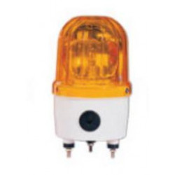 Electrical rotating light 24vdc 10w amber fixed rotating light (fixation by screw)