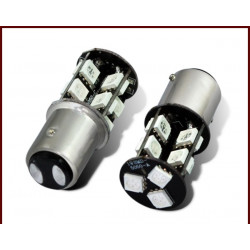 2 X d009 car white 19 smd 5050 led 1156 1141 ba15s Trun Signal Light External Bulb Tail Lamp dc 12V