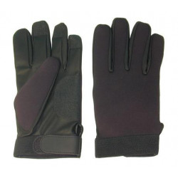 Pair of gloves neoprene palpation search excavate with the body pair of gloves security search police security gloves broad size