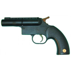 Single shot 12 gauge defense pistol. shoots a single 12 50 cartridge
