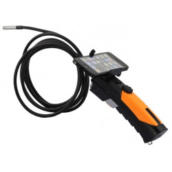 Camera with wifi smartphone endoscope borescope inspection camera with articulated 3 meters WF200