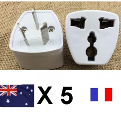 5 Travel power adapter with earth to go in china and australia new zealand