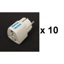 10 Travel adapter electric european plug to english plug adapter 1a 250vac adapter electric adapter electric