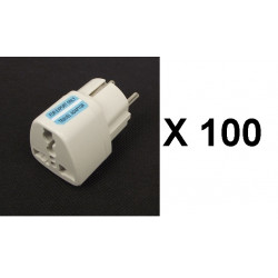 100 Travel adapter electric european plug to english plug adapter 1a 250vac adapter electric adapter electric