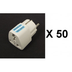 50 Travel adapter electric european plug to english plug adapter 1a 250vac adapter electric adapter electric
