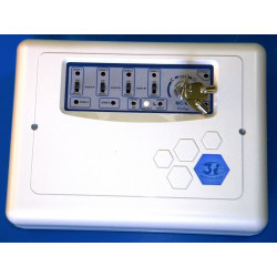 Control panel 6 zone electronic alarm control panel, 220vac antitheft systems wired alarm control panel 6 zone electronic alarm