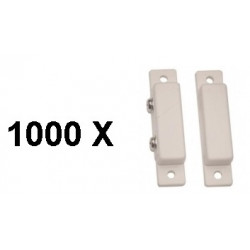 1000 Detector surface mounting nc magnetic contact, white alarm detector alarm sensor switches magnetic door sensors white magne