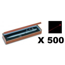 500 Ballpoint pen red laser pointer electronics lazer beam white led lamp (3 in 1) 143.1651
