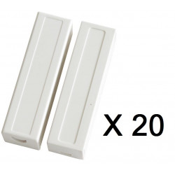20 Detector opening sensor magnetic contact alarm contact no bs-2033a projection cream white