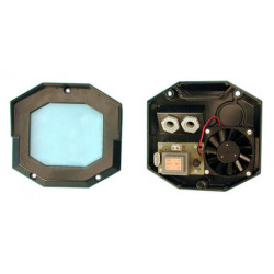 Ventilator, thermostat : heg + glass for camera housing videotec thermostats ventilators camera housing ventilators camera housi