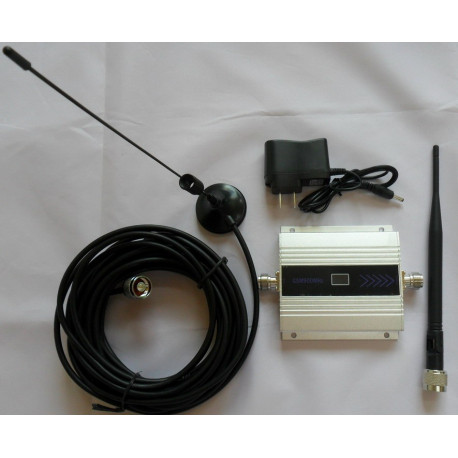GSM 900MHZ Mobile Phone Signal Booster GSM Signal Repeater Cell Phone Amplifier With Cable + Antenna