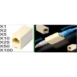 100 Electric extension cable adapter coupler 8p8c female female rj45 join rj45 rj45 electric extension cable electric extension