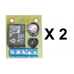 2 Relay module 12v ac or dc 1 no contact ac voltage dc converter nf