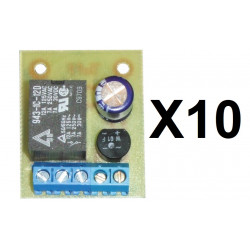 10 Relay module 12v ac or dc 1 no contact ac voltage dc converter nf