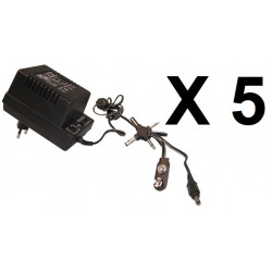 5 Electric plug in power supply plug in main supply 220vac 3 12vdc 700ma adapter plug in electric supply