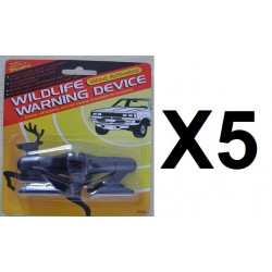 5 Whistle wind activated wildlife warning device for deer (pair of 2) nap zapper anti sleep alarm
