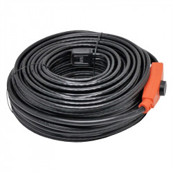 Antifreeze electric heating cable cord 24m shpt-24m pipe frost protection with water hose thermostat