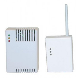 Wireless gas detector set for alarm control panel wireless escaping gas detector gas detection