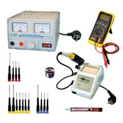 Pack after sales service electronic wiring soldering iron feeding