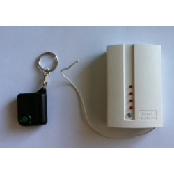 Remote control 1 channel miniature remote control, 433mhz 30 100m door gate automation self motorisation alarm miniature remote