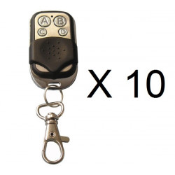10 X Remote radio jolly hearty open 4 433mhz transmitter universal alltronik avidsen prastel tau