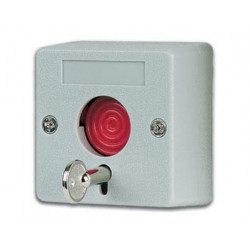 Emergency button (panic) with security key
