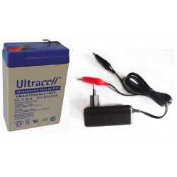 7.2vcc charger 220v 110v 0.5a 6v 1a 6w + 6v 2.8ah battery rechargeable battery motorcycle