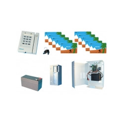 Acces control pack entry exit with 1 self activated electronic card reader access control pack access control kit access control