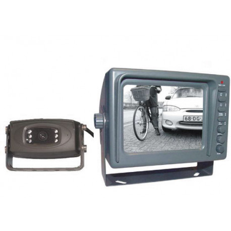Video surveillance pack 12v special car truck bus coach (1 monitor + 1 water resistant camera)