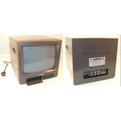 Moniteur surveillance video couleur 14'' 34cm 400l audio 220vca 2 entrees & 1 sorties video/audio