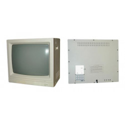 Monitor video surveillance 20'' 45cm b w video monitor + audio, 220vac video surveillance monitor video surveillance 20'' 45cm b