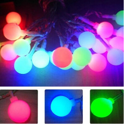 Guirlande lumineuse solaire 20 leds 9 M Party Light