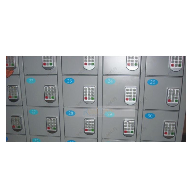 Silver Metal Locks Electronic Password keypad locker Digital