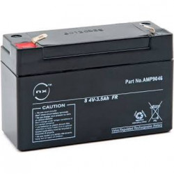 4v 3.5AH Rechargeable Battery for Central DOMONIAL pmi8fr-std-7