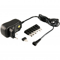 Universal Power Adapter 110v 220v 3v 4.5v 6v 7.5v 9v 12v 1a 12w 1.8 m