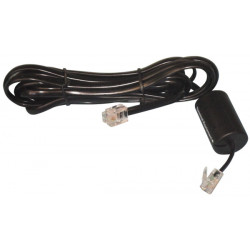 Cable modem telephone cord with plug and filter rj
