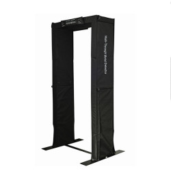 Door Frame Metal Detector, Portable Walk Through Metal Detector Door, Easy to Carry
