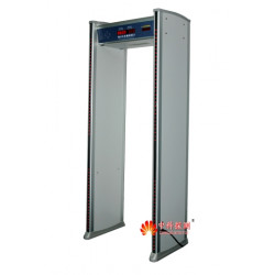 Metal detection portal 6 zones metal detector school airport electronic alarm