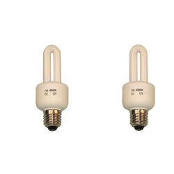 2 X Bulb electrical bulb lighting 12v 7w e27 energy saver electrical bulb electrical lighting