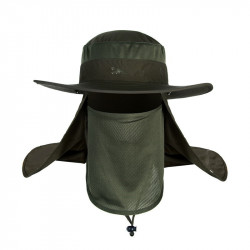 Climbing wide brim waterproof fishing hat sun UV protection summer bucket hat with Neck Face Curtain Cycling Breathable Visors